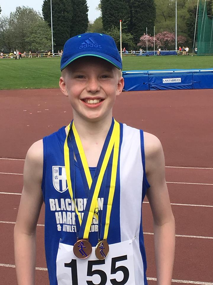 Jayden 4th in National Rankings & Matthew Joint 1st in National Rankings with 21 new PB's at Trafford Medal Meeting – Manx Mountain Marathon & Easter Festival of Running – Triathlon with Danny and Mark