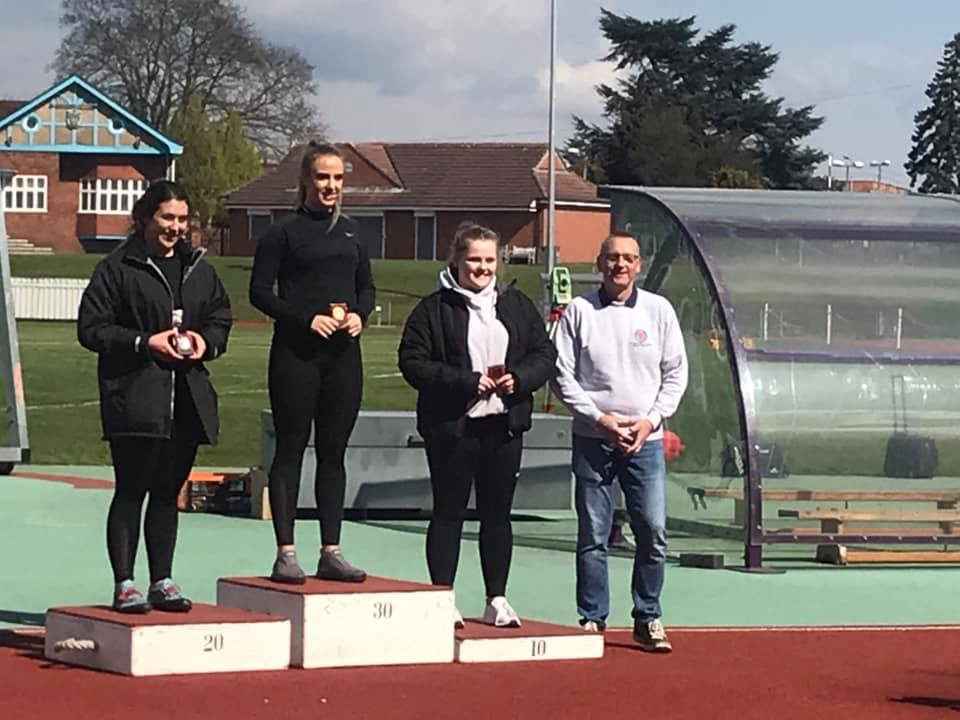 Stunning performance see Charlotte throw qualifying distance for European Junior Championships – Sam 2nd in first U20 Hammer Competition at Loughborough
