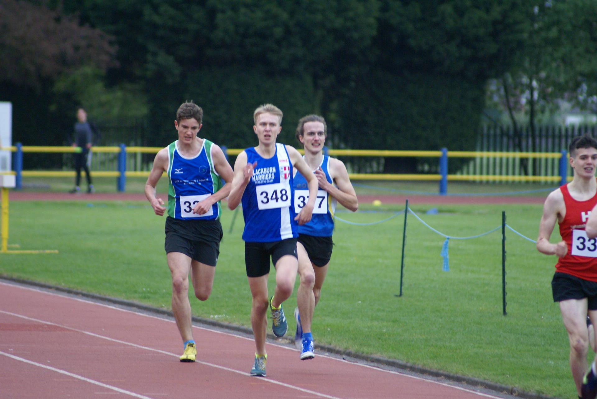 New PB for Nick and Jacob wins at Trafford