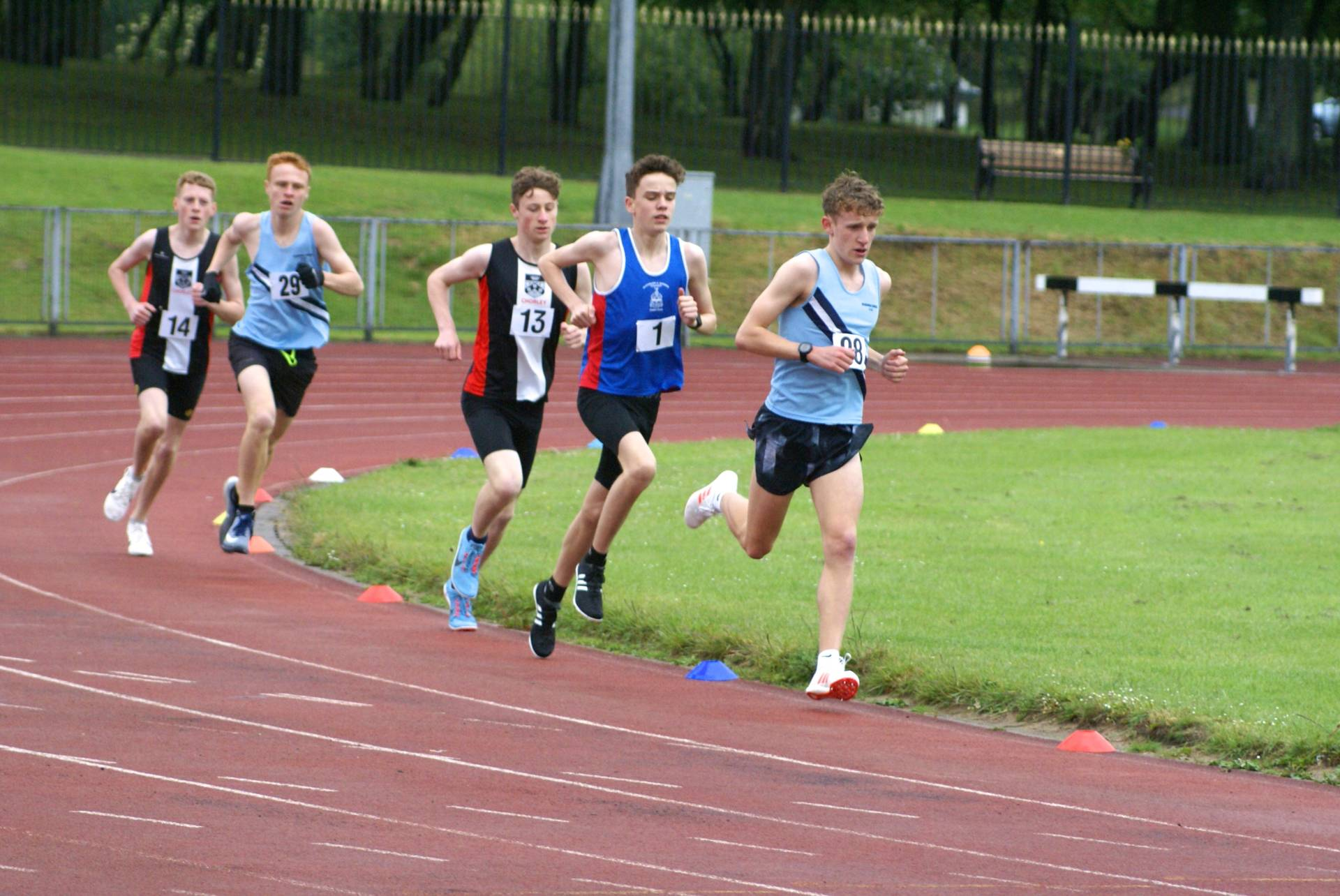 Harriers have nine winners at Lancashire Schools T&F Championships – Ben 2nd at Potters 'Arf Marathon – Another Top 10 place for John at Weets