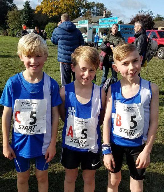 Northern Cross Country Relays – New PB's for Paul & Charlotte at Amseterdam Marathon – Green Drive 5