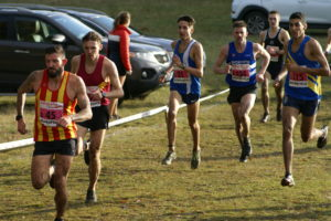 Blackburn Harriers at National XC Relays at Mansfield