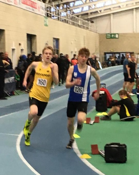 Six New Indoor PB's for Harriers at Sportcity – 5K PB for Josh & Seasons Best for Karl and Marc – Top 5 for John at Longridge – University Cross Country – Turkey Trot