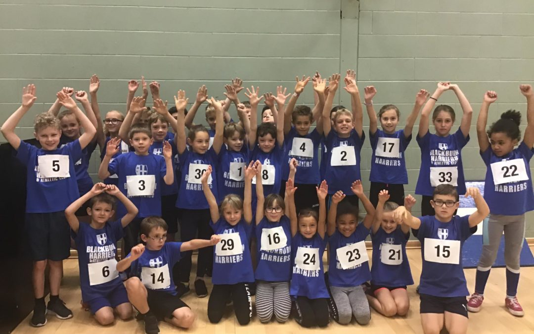 13 Blackburn Harriers selected for Lancashire Sportshall at Regional Finals – Manchester Area Cross Country League – More on the Fells