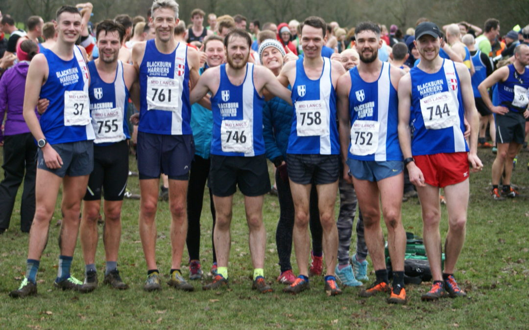 Three Team Wins at Mid Lancs for the Harriers – Rob wins an England Vest – John on the Fells – Garstang & Tatton 10k's – Harriers on Tour with Keith
