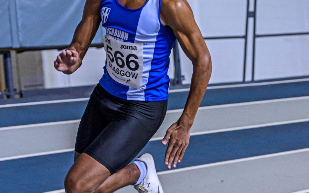 Jayden sets new PB at Scottish 200m Championships