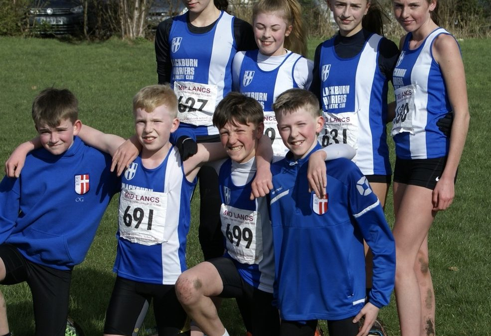 Mid Lancs Cross Country League Team & Individual Medals for 2019-2020