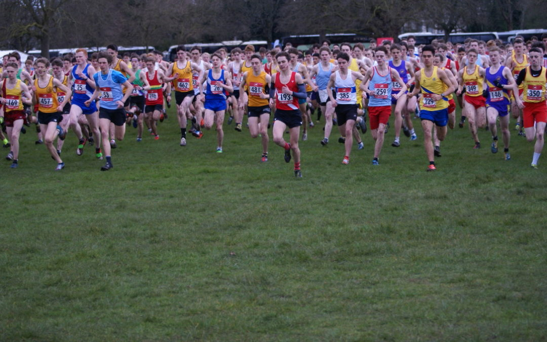 Gold for Lancashire Senior Boys at English Schools – New PB's for Harriers at Sportcity Indoors – Nicky wins at Woodford Green – Debuts for Markhim and Luke at Podium 5k – Jonathan sets new PB at Trimple 20 – Craig Runs Haworth Hobble