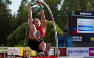 Holly Wins Pole Vault at Kuortane Games – New PB's for Thomas and George – Matt & Tony travel for Throws