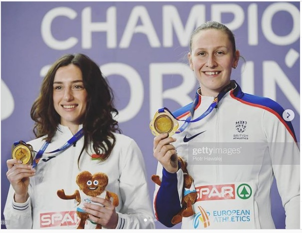 Holly Wins Bronze Medal at European Championships