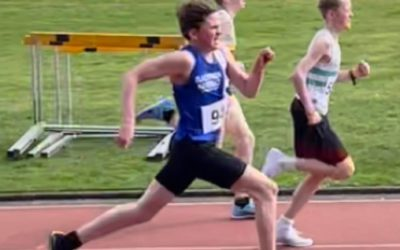 Race Wins & New PB's for Harriers athletes as competition returns on Track & Road