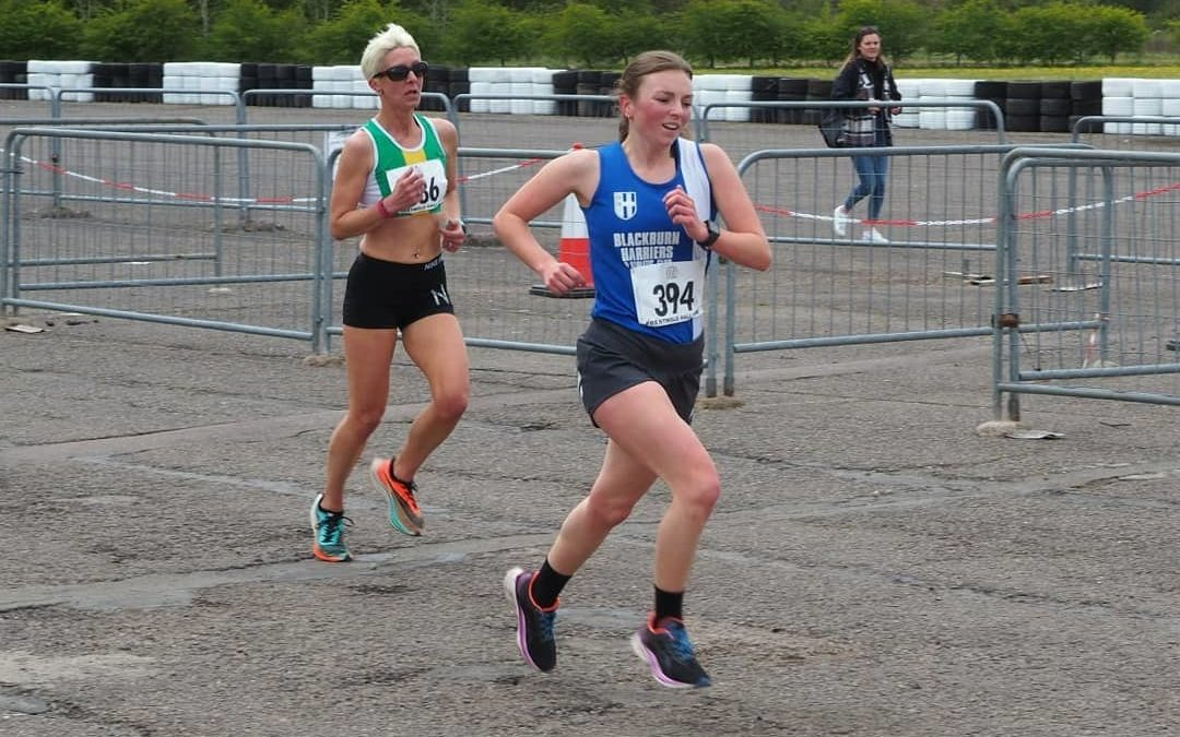 Charlotte takes 2nd in the U.S – Ellen runs 5k PB in Loughborough