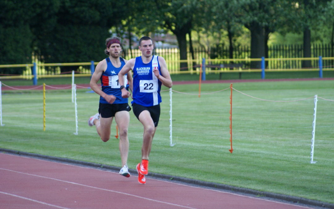 Wins & New PB's for Harriers at Trafford Open – Paul Back on the Road – Matt 2nd at Leigh Open