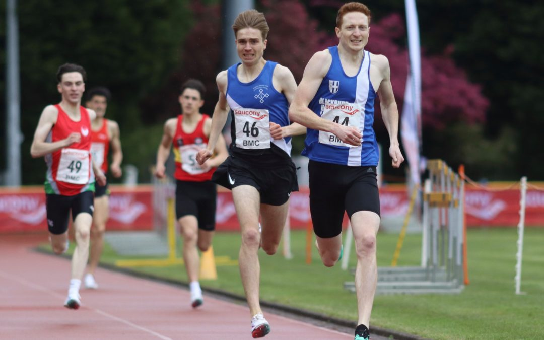 Weekend at Trafford is a good one for Blackburn athletes, with Wins and PB's – Wins for Chris & Victoria at Blackpool 10k – On the Trails with Keith & Oli