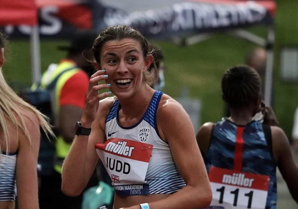 Jess Judd  books her place for the Olympics