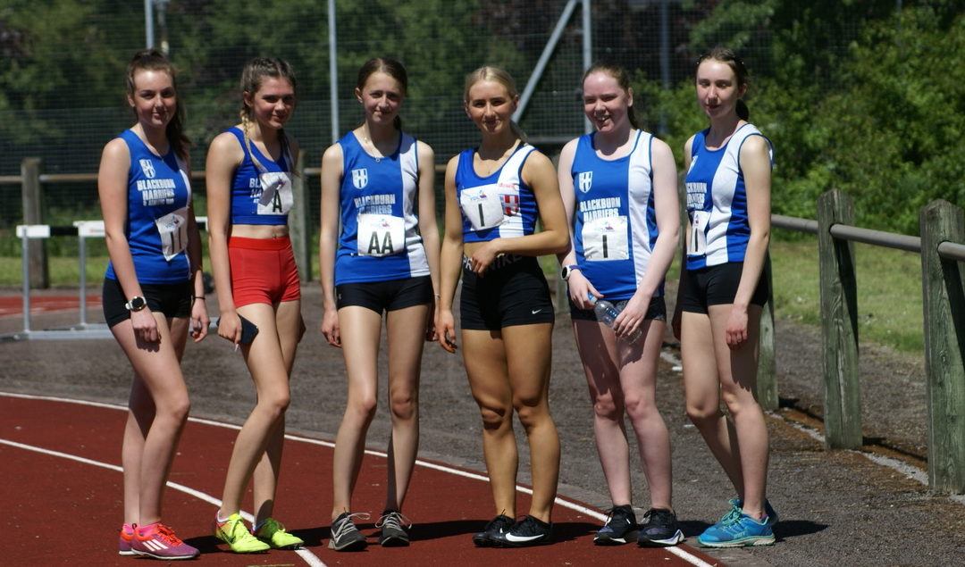 Blackburn Harriers Win UKYDL (UAG) at Lancaster – More PB's for Harriers at Trafford Grand Prix