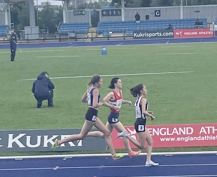 1500m PB for Tim at BMC – Top 10 for Abby at the Nationals – Series Wins for Theo (U13's), Oliver (U15's), Jack (U17's) & Isabel (U17's) – Throws Pentathlon Results update for Tony & Mike