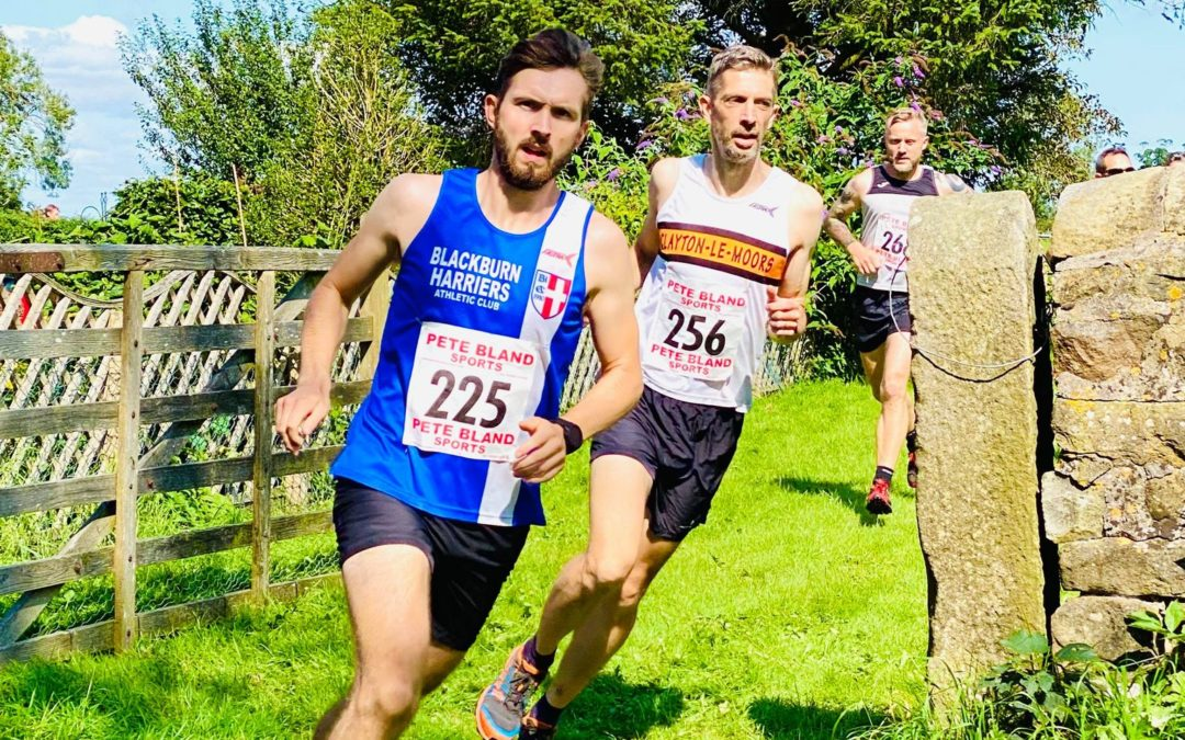 Harriers U11/U13/U15's at Trafford – 5k PB for Tom at Mid Cheshire – On the Fells at Pendleton & Hebden