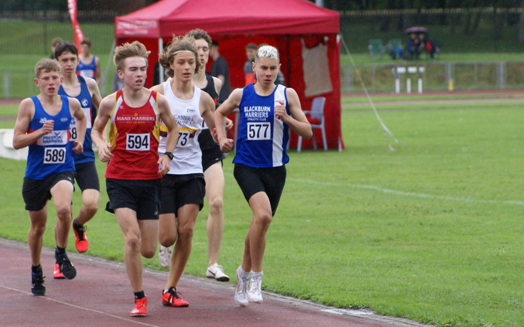 Harriers Athletes Win 20 Gold, 24 Silver and 12 Bronze Medals alongside posting 23 new PB's at Lancashire T & F Championships