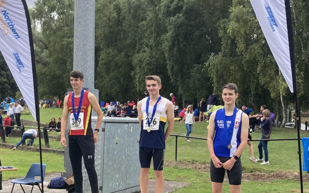 Medals for Abigail & Ben at Northern Championships – 1500m PB for Callum at BMC – PB's for Harry & Mark at Trafford – Jacob 2nd at Colne 10k – Catforth 5k & Blackpool 10k – Harriers on the Fells