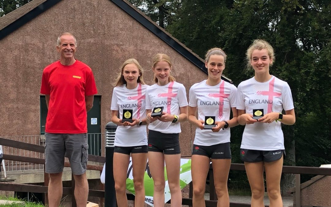 Isabel Wins Team Gold at the Junior Home Championships in Ireland